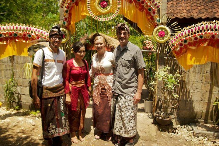 """Valerie, Griffin, Kendik and Akic at Kendik's Sisters Wedding - Ungasan Bali, Indonesia"""